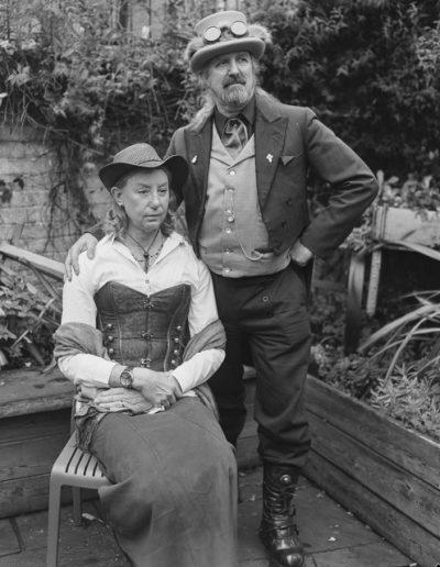Portrait Photography - Steampunk couple