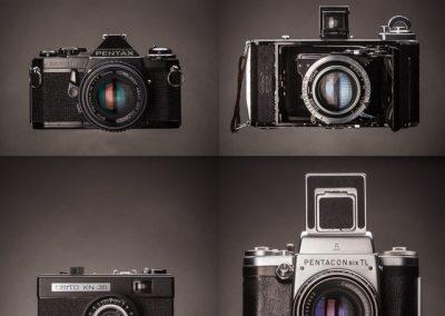 Still life photography - Film Cameras