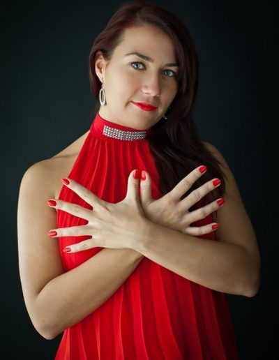 Portrait Photography - Girl in Red