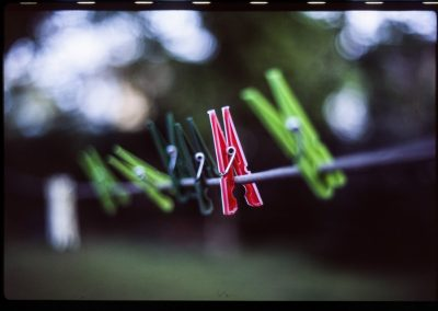 Film photography - Clothespin