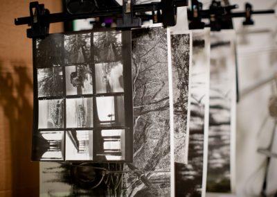 Darkroom - Drying prints