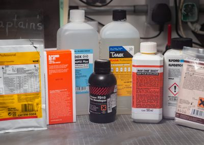 Film developing - Developing chemicals