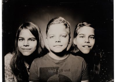 Wet plate collodion - Triplets