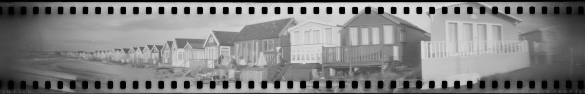 Pinhole camera - Hengistbury Head Panorama