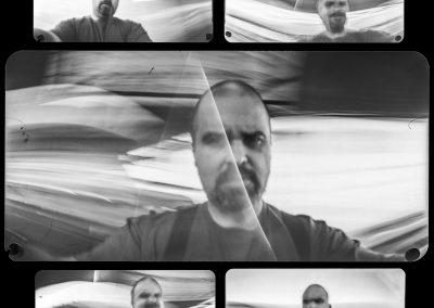Pinhole camera - Selfportraits