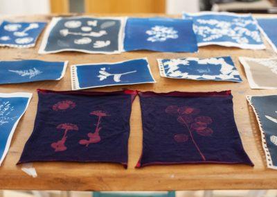 Cyanotype Workshop - On textil