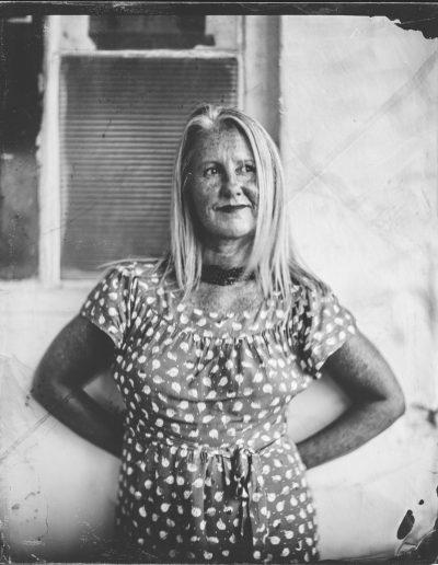 Wert place collodion - Portrait of an Artist
